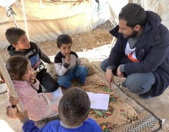叙利亚行动最新动态:每天派发6500份热餐;帮助无人陪伴的弱势儿童