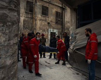 SARC and ICRC evacuate 150 civilians from Aleppo frontline