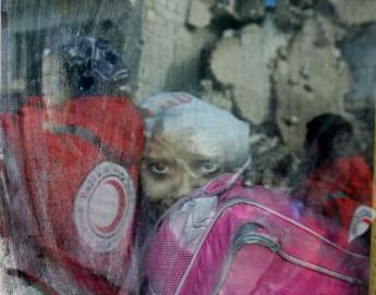 Fin de l'opération qui a permis d'évacuer quelque 35 000 personnes à Alep-Est