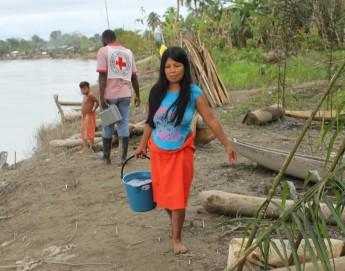 Inundaciones agravan situación humanitaria de comunidades indígenas en Colombia