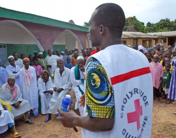 "Ending Ebola requires continued resources and ""the right words"""