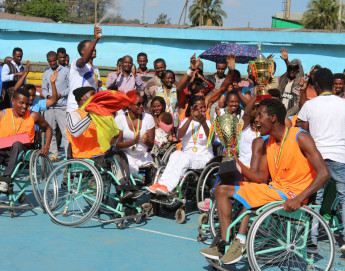 """Ethiopia: """"Playing wheelchair basketball becomes an orbit of my happiness"""""""