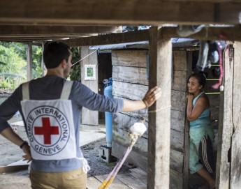 Acción humanitaria del CICR en Colombia en 2014 - Hechos y cifras