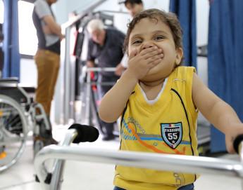Gaza: un deseo hecho realidad para el pequeño Owais