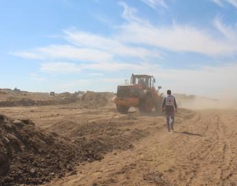 Gaza : six mois après la fin du conflit, les activités d'aide et de reconstruction progressent difficilement