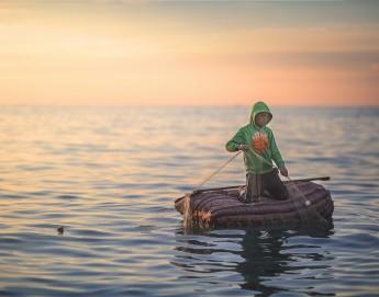 来自加沙的青年摄影师用镜头捕捉美好瞬间