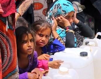 Iraque: milhares de pessoas que fogem da violência vivem em condições difíceis