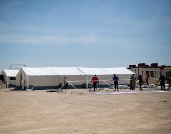 Syrien: Feldlazarett für Vertriebene wird im Lager al-Hol eröffnet