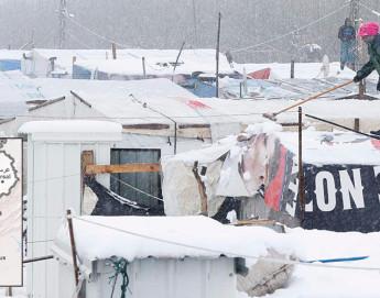 Respuesta del CICR a las duras condiciones del invierno en Líbano