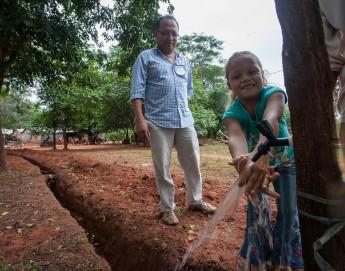 """Paraguai: """"A água é primordial e, tendo acesso a ela, podemos avançar"""""""