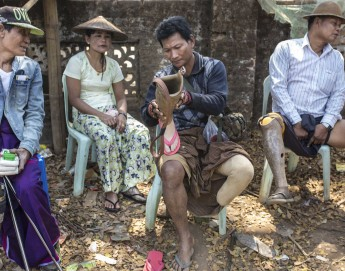 Myanmar: Repair of prostheses close to home brings hope