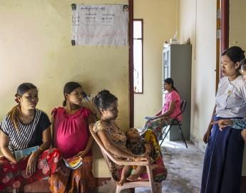Rakhine : un dispensaire où tout le monde est le bienvenu