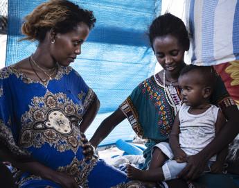 Fotos e historias de refugiados etíopes que huyeron de Tigray hacia Sudán