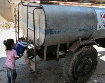 War pushing water shortages to breaking point in the Middle East, says ICRC report