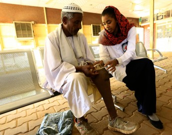 Sudan: Helping people to walk again