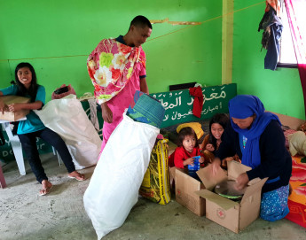 Philippines: Aid for 2,500 people displaced by fighting in Lanao del Sur