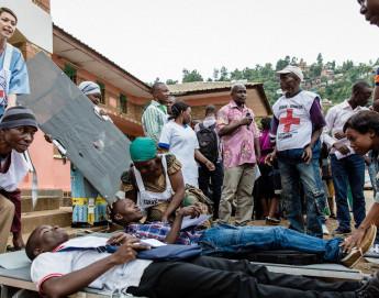 Chirurgie de guerre en RDC : comment trier les blessés dans l'urgence