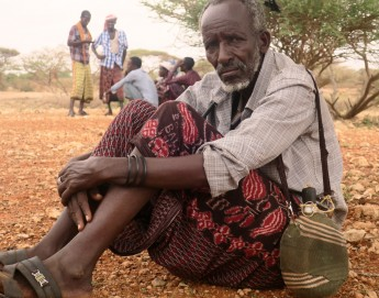 索马里降水不足,游牧生活受到威胁