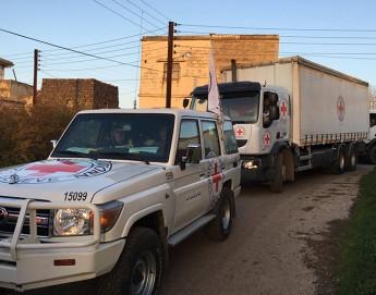 Síria: primeira ajuda em meses chega a mais de 70 mil pessoas na região central de Al Houleh