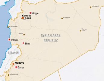 En quoi a consisté l'assistance fournie à la population syrienne de Madaya, Foua et Kefraya ?