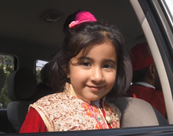From Islamabad to Salzburg: Zainab reunited with her dad