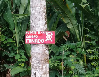 Explosive hazards: a silent threat in Colombia