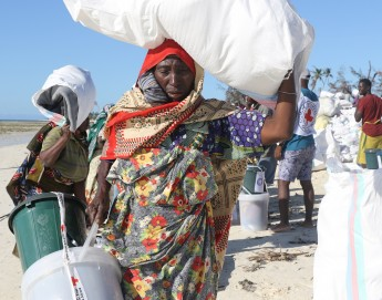 Mozambique: Relief for island communities reeling from Cyclone Kenneth
