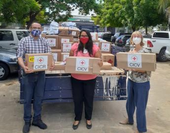 Brasil: CICV doa itens de higiene e limpeza a abrigos em Roraima
