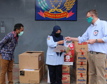 COVID-19: ICRC expands material support to prisons in West Java and Banten