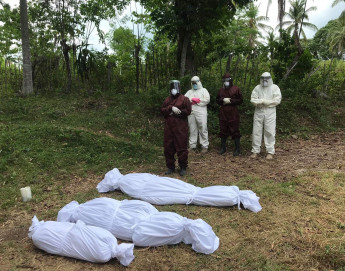 Working together to safeguard dignity during COVID-19 burials