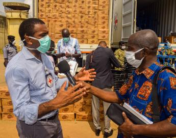 Délégation régionale à Abidjan : riposte Covid-19 en Côte d'Ivoire, en Guinée et au Togo