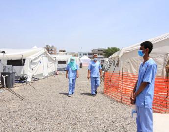 Jemen: Eröffnung eines COVID-19-Versorgungszentrums im Vorfeld einer möglichen zweiten Welle