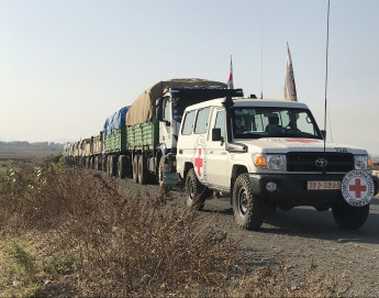 ICRC and ERCS deliver emergency relief to people affected by the fighting in Tigray