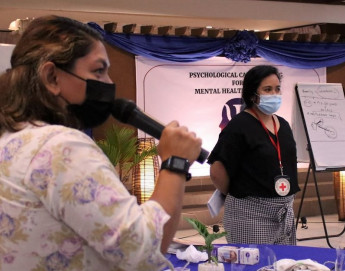 Philippines: How we're helping build a stronger mental health workforce in Mindanao