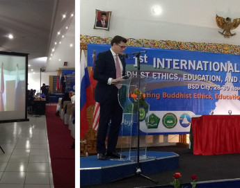 Indonesia: ICRC attends first international conference on Buddhist ethics, education, and applied Buddhism