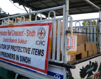 Pakistan: ICRC and PRCS distribute hygiene supplies at places of detention in Sindh to prevent outbreak of COVID-19