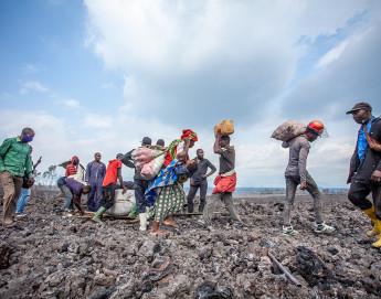 RD Congo : d'immenses besoins humanitaires après l'éruption du volcan Nyiragongo