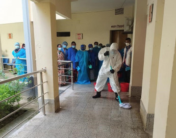 Bangladesh: Dedicated infection prevention and control programme for 31 health facilities