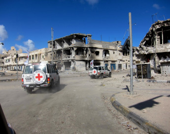ICRC's Gilles Carbonnier on impact of heavy explosive weapons in populated areas