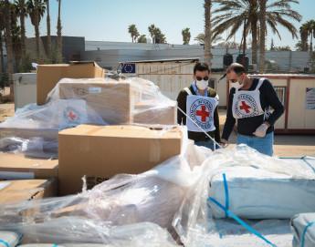 COVID-19: IKRK spendet wichtige Intensivpflege-Ausstattung für Gaza