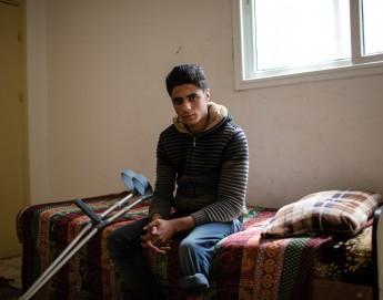 加沙的年轻截肢者们正努力让生活回到正轨