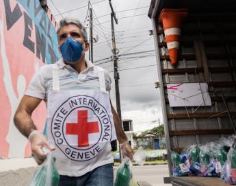 COVID-19: actividades del CICR en Brasil y países del Cono Sur frente a la pandemia