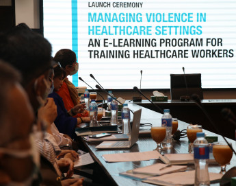 Pakistan: ICRC launches online training to address violence in health-care settings