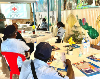 ICRC supports with police training in Bougainville