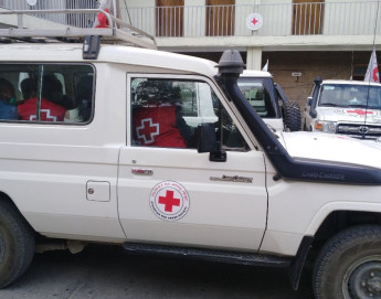 Evacuación médica de pacientes heridos en Tigray, Etiopía