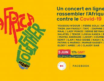 #AfricaTogether: un festival virtuel pour rassembler l'Afrique contre le COVID-19