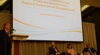 图说:法律专家齐聚吉隆坡探讨《武器贸易条约》相关问题