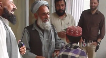Afghanistan: Poignant reunion between father and son