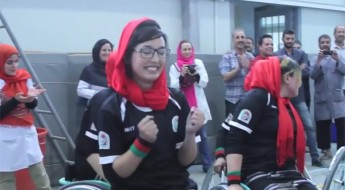 Afganistán: torneo de básquet femenino en silla de ruedas