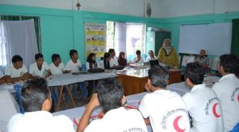 孟加拉国:红新月会开展宣传标志正确使用的活动
